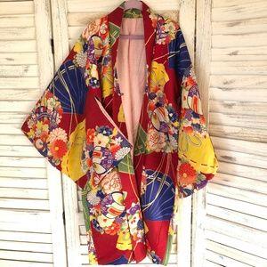 Vintage Japanese Children kimono